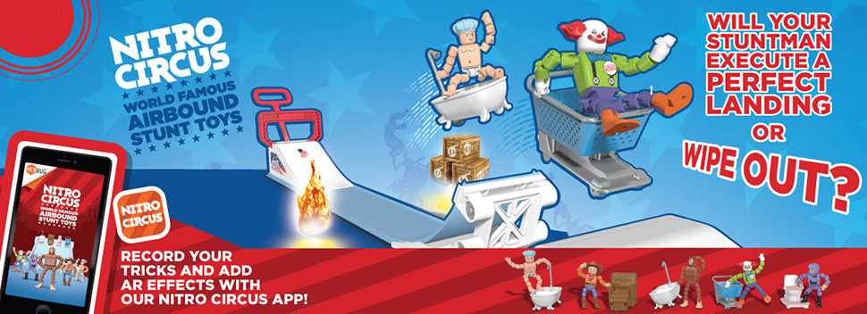 Amazon.com: Hexbug de Nitro Circus 10 galones Ted: Toys & Games