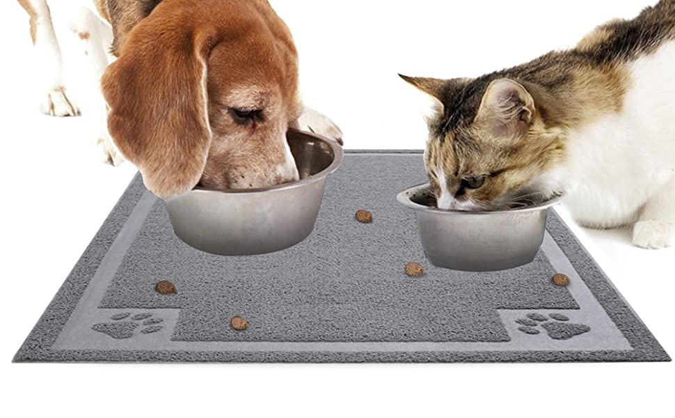 dog mats for food and water