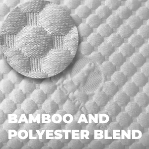 bamboo and polyester fabric