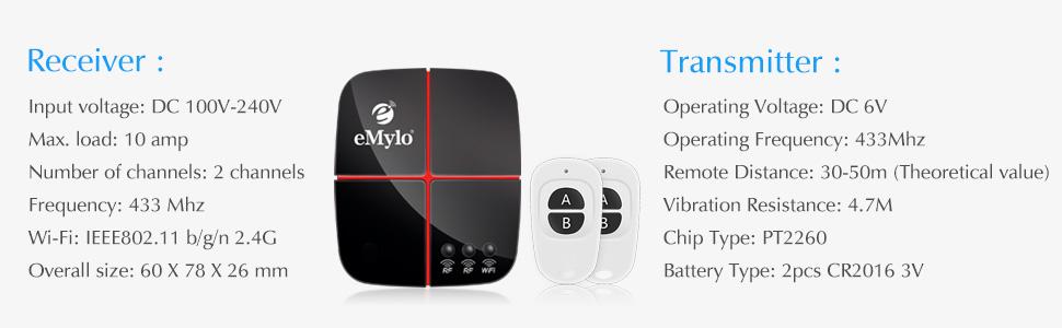 WiFi Switch Wireless Remote Control Smart Switch Module For DIY Smart Home