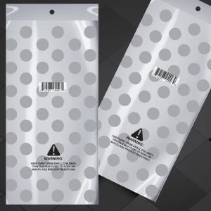 9 hojas de papel de seda de lunares con lunares blancos