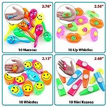 Amazon.com: Amy&Benton - 150 piezas de juguetes para fiestas ...