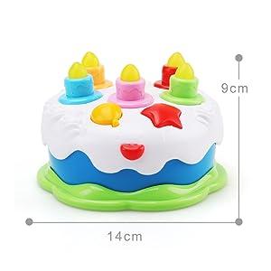toy birthday cake