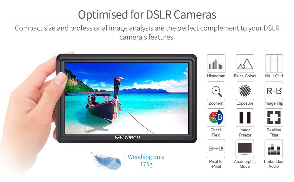 camera field monitor 4k