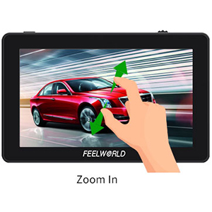touch screen camera monitor