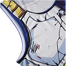 Cartoon Print-Work Out Compression Muscle T-Shirt