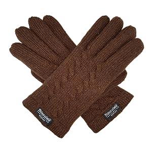 brown glove