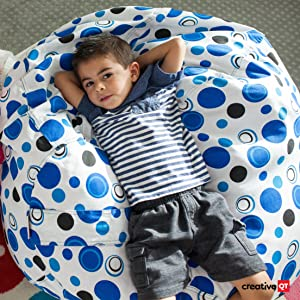 Marvelous Creative Qt Stuffed Animal Storage Bean Bag Chair Large Stuff N Sit Organization For Kids Toy Storage Available In A Variety Of Sizes And Colors Caraccident5 Cool Chair Designs And Ideas Caraccident5Info