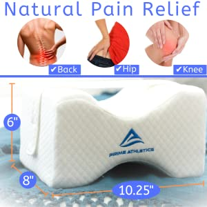 Amazon Com Knee Pillow For Side Sleepers Sciatic Nerve