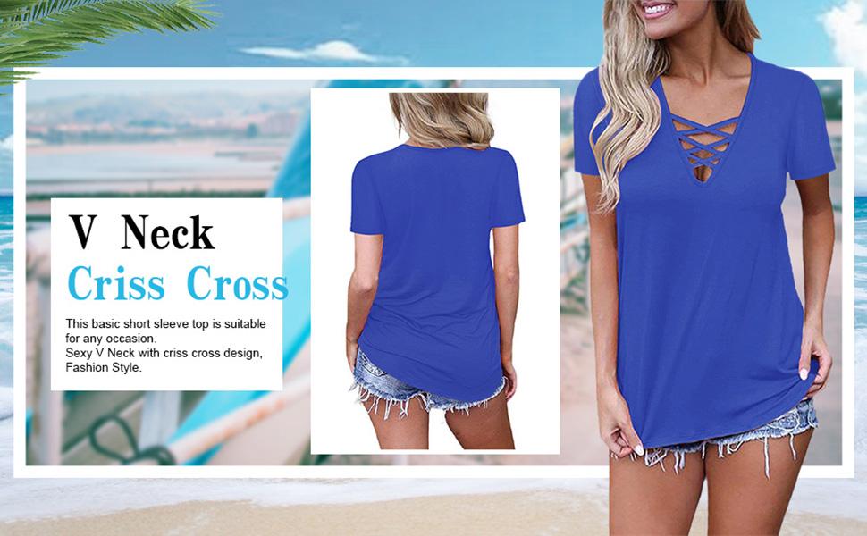 criss cross top