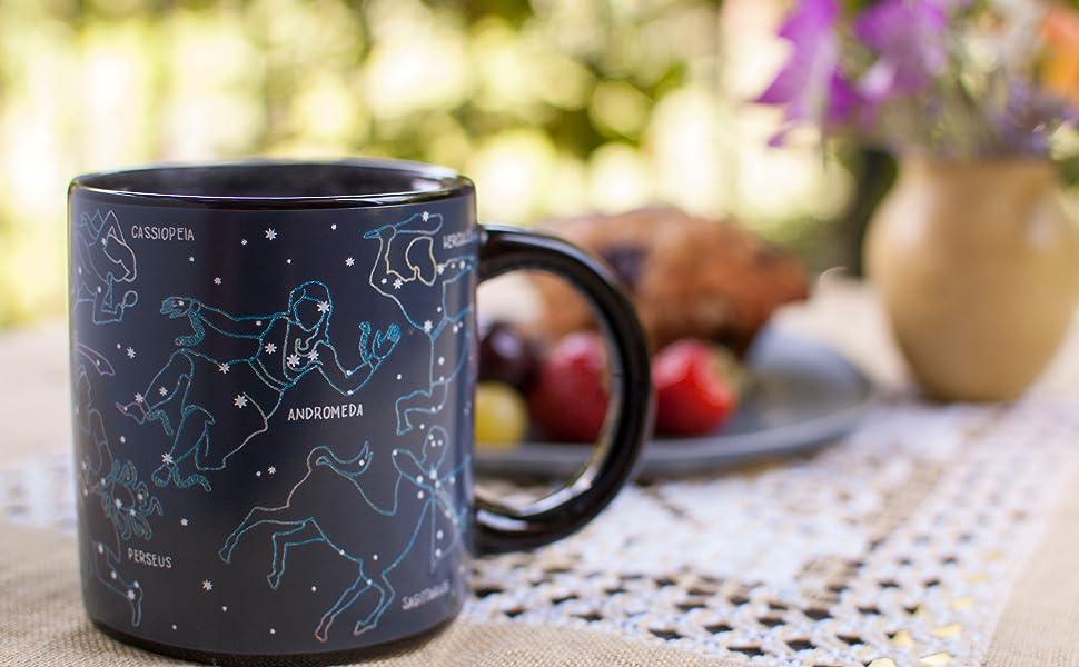 Amazon.com: Taza de constelación que cambia al calor ...