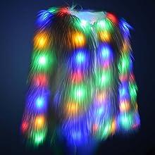 LED coat for women
