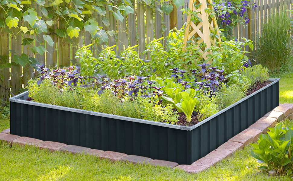KING BIRD Extra-thick 2-Ply Reinforced Card Frame Raised Garden Bed