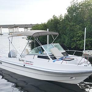 2 Colors u0026 3 Sizes Available & Amazon.com : KING BIRD 4 Bow Bimini Top Boat Cover Sun Shade Boat ...
