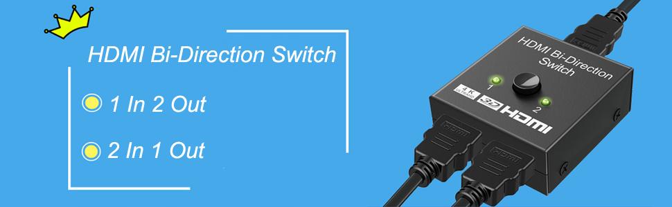 hdmi bidirectiona switch