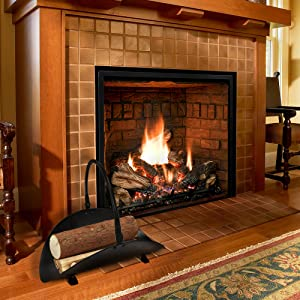 fireplace fire wood basket log holders decorative at fireplaces to pretty up the - Fireplace Wood Holder
