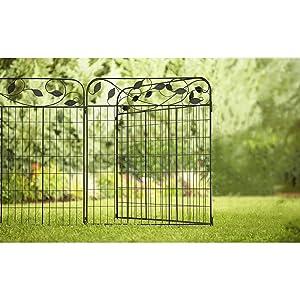 Amazon.com : Amagabeli Decorative Garden Fence Coated