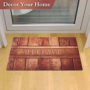 Indoor Doormat Ideal Size To Keep Any Entry, Front Door, Back Door, Ground  Mat Without Snagging Or Traping, Make The Door Open And Close Freely.