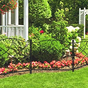 This Garden Fence Is Made Of Thicker Stake To Be More Durable. So You Donu0027t  Have To Worry About That Your Beatiful Flower Bed Will Be Destroyed When  Your ...