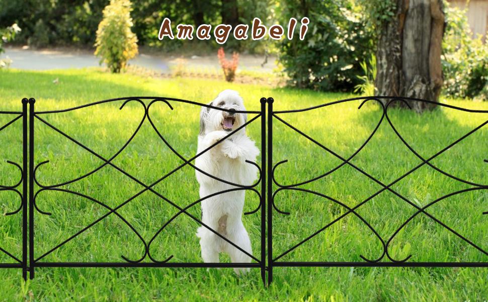 Amazoncom Amagabeli Decorative Garden Fence 24in x 10ft Outdoor