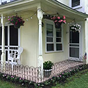 Amazon Com Amagabeli Decorative Garden Fence 32in X 10ft