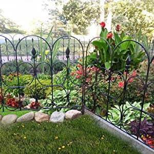 Superior Amagabeli Decorative Garden Fence 32 In X 10 Ft Landscape Wire Folding  Fencing · Amagabeli Decorative Garden Fence 32 In X 12 Ft Landscape Wire  Folding ...
