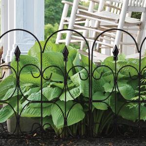 Amagabeli Decorative Garden Fence 32 In X 10 Ft Landscape Wire Folding  Fencing · Amagabeli Decorative Garden Fence 32 In X 12 Ft Landscape Wire  Folding ...