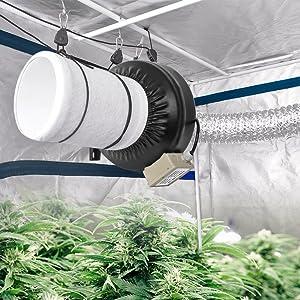 Amazon Com 4in Aluminum Foil Duct Hose Grow Tent Room