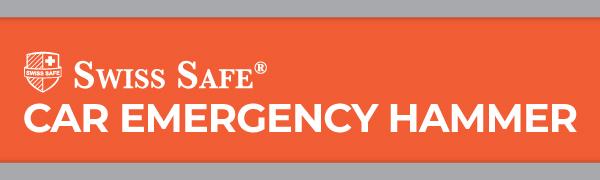 Swiss Safe Car Emergency Hammer