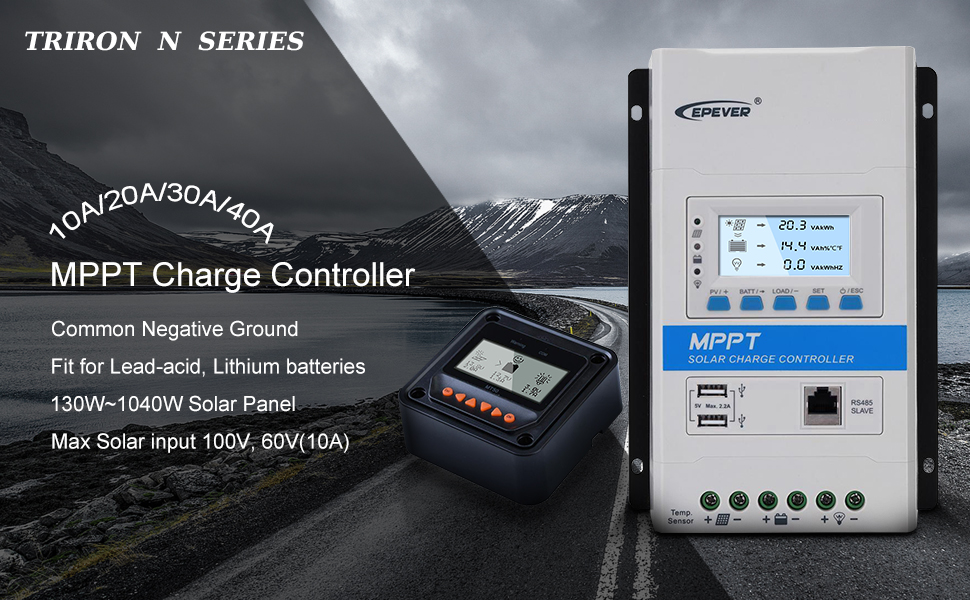 triron N controller + MT50 remote meter