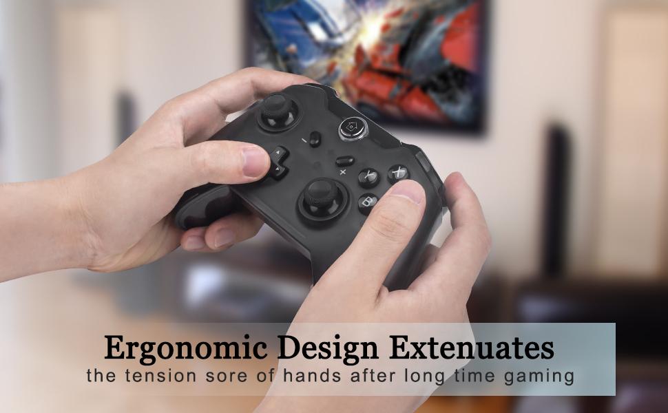 Ergonomic Switch Controller