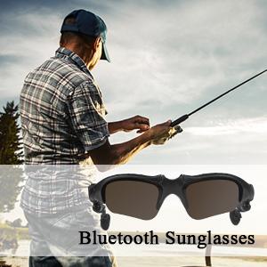 3ce3bbd781 Amazon.com  TechKen Sunglasses Headset Headphone Bluetooth Wireless ...