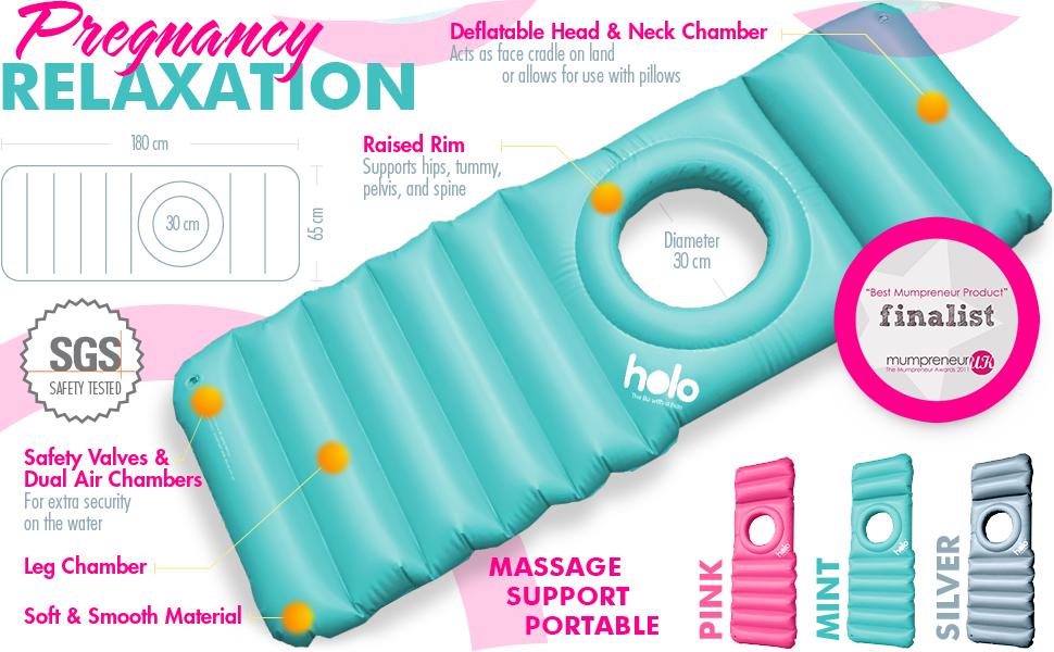 Amazon.com: Almohada inflable de maternidad Holo con ...