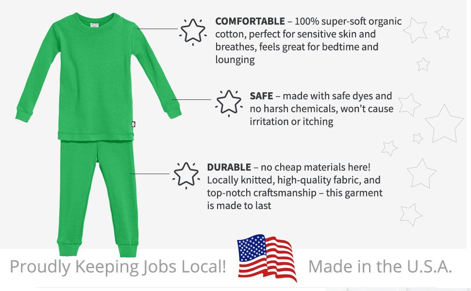 comfortable soft organic cotton durable quality