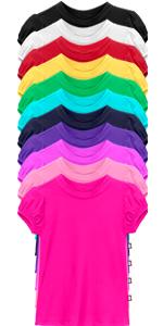 girls UPF 50+ puff sleeve rashguard camp camping easter spring break sun shirt swimming shirt rash
