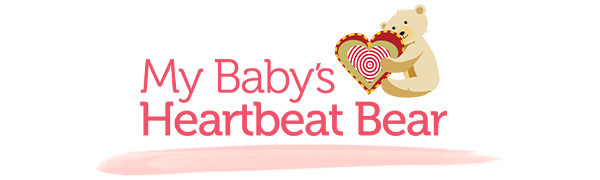 MBHB My Baby's Heartbeat Bear Stuffed animals