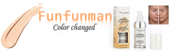 Flawless Colour Changing Foundation Makeup