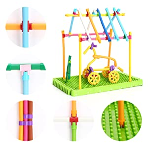 connect gear stacking toys for kids educational toys