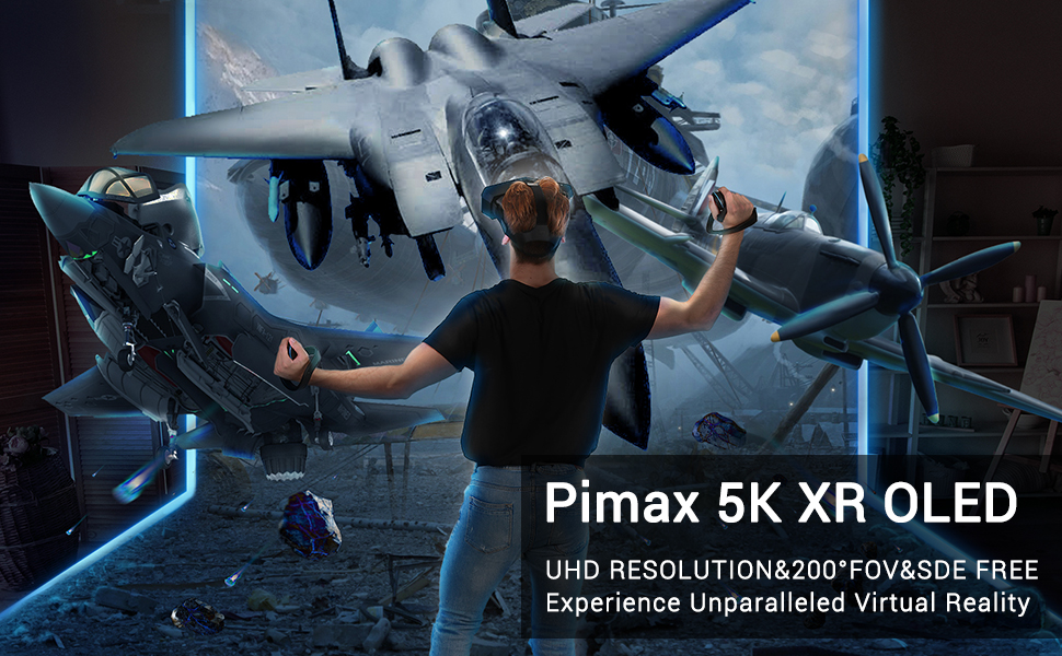 Pimax 5K XR VR HEADSET FOR PC