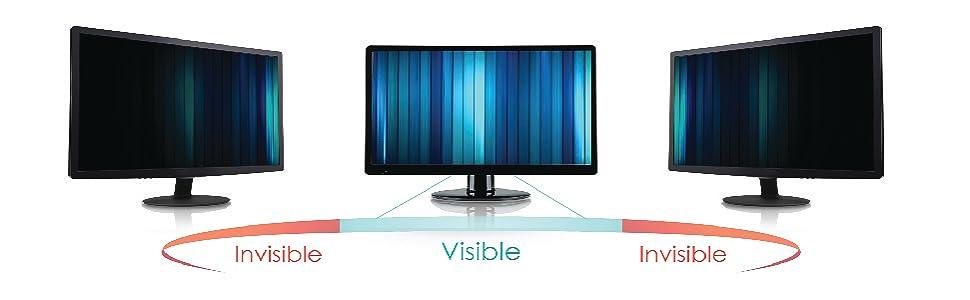 Lavievert Computer Privacy Screen Filter for 23 Widescreen Computer Monitors 16:9 Ratio Anti-Glare Anti-Scratch Protector Film for Data Confidentiality