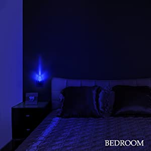 Plug In Night Light Smart Dusk To Dawn Sensor Blue Led Nightlight Auto On Off Nite Light Bedroom Bathroom Hallway Kitchen Stairs Kids Nursery