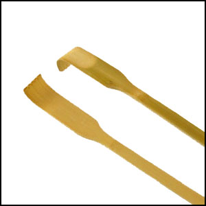 bamboo back scratcher travel thin