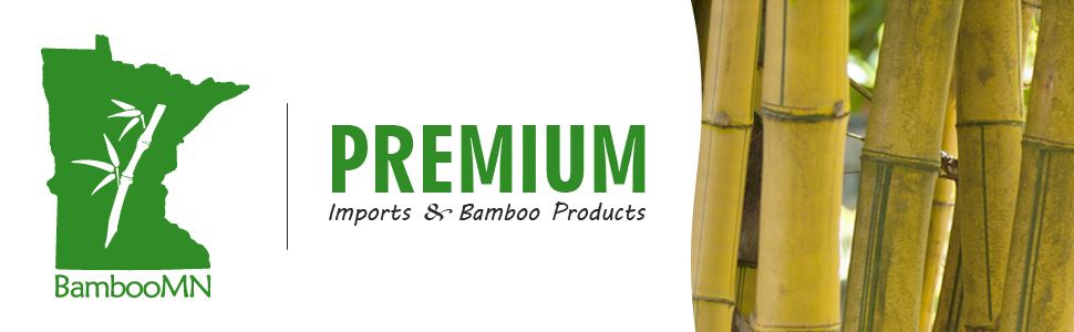 BambooMN premium imports and bamboo products header