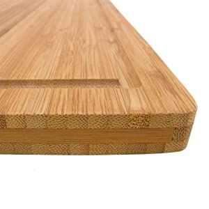 quality cutting board bamboo bamboomn formaldehyde-free natural green renewable