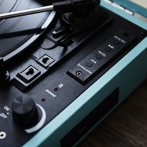Amazon.com: musitrend Record Player Classic portátil veliz ...