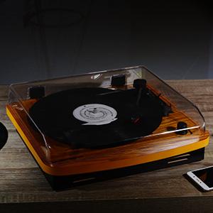 Amazon.com: Musitrend Tocadiscos LP de 3velocidades ...