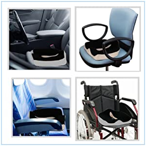 Amazon.com: Orthopedic Memory Foam Seat Cushion Pillow