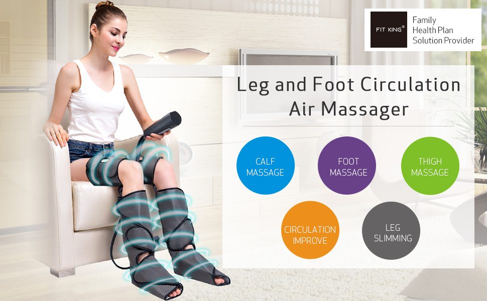 FIT KING Foot and Leg Massager for Circulation