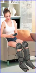 Leg and Foot Massager with Knee Heat