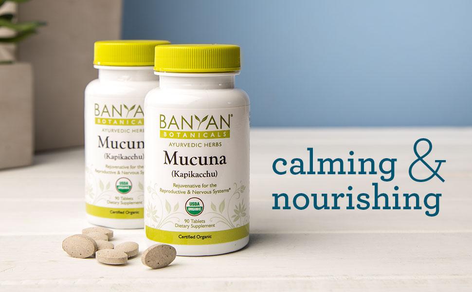 Banyan Botanicals Mucuna pruriens tablets